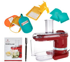 Cook U0027s Auto Service In by Cooksessentials Electric Mandoline Slicer U0026 Dicer W 7 Blades