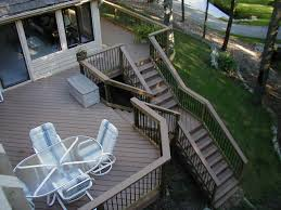 stairs design new ideas for deck stairs design second story deck