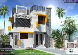 three bedroom house plan kerala style plans designs for in 4