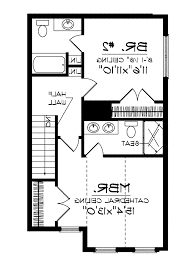 Simple Home Plans by Home Design 93 Appealing Two Bedroom House Planss