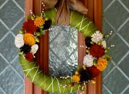 Thanksgiving Wreath Craft Thanksgiving Crafts Make A Beautiful And Festive Yarn Wreath