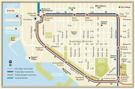 Silver Line Metro Map by San Diego Trolley Silver Line A Vintage Ride Back In Time