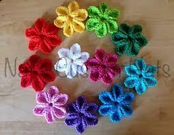 Tiny Flower Crochet Pattern - best 25 crocheted flowers ideas on pinterest free crochet