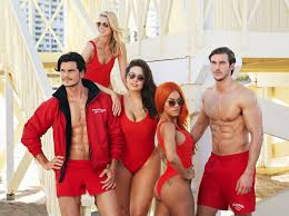bay watch halloween costumes swimsuits for all launches baywatch themed campaign instyle com