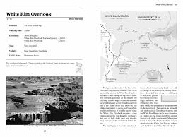Canyonlands National Park Map White Rim Overlook Canyonlands National Park Utahtrails Com