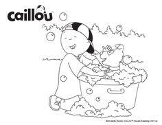 print u0026 color caillou u0027s halloween printable coloring sheet