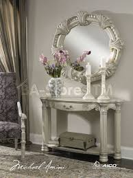 mirrored console table for sale hall console table and mirror set