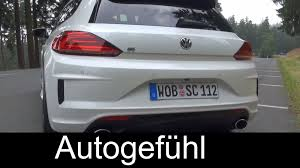 2015 volkswagen scirocco r 280 hp test drive review vw scirocco