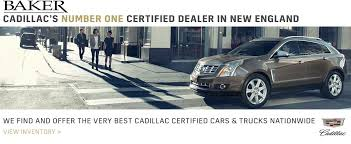 cadillac srx dealers baker is your cadillac dealer near worcester massachusetts