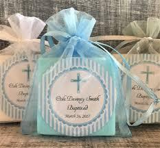 boy baptism soap favors baby shower favors baptism favors