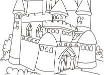 princess castle coloring pages coloring pages free