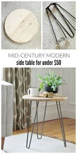 Diy Sofa Side Table 64 Best Diy Tables Images On Pinterest Home Diy Table And Kitchen