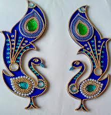 floor decor and more beautiful kundan rangoli floor peacock design wedding homes
