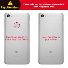 Xiaomi Redmi 5a Xiaomi Redmi Note 5a Luxury Matte Silicone Soft Cover For