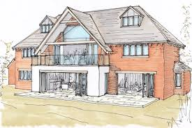 planning to build a house planning permission granted for new build home ben parsons design