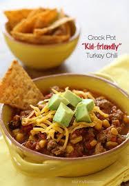crock pot kid friendly turkey chili skinnytaste