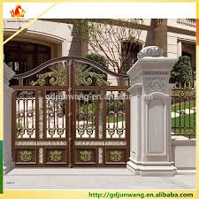 Optimal Modern House Sliding Gate Design 17 as panion House