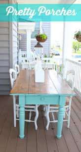 best 25 porch table ideas on pinterest screen porch decorating