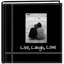 pioneer high capacity photo album pioneer photo albums embroidered live laugh