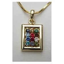 hoshen stones stones pendant