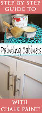 Painting Kitchen Cabinets With Chalk Paint How To Paint Cabinets With Chalk Paint