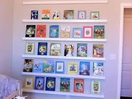 Wall Bookshelves Shelves Interesting Wall Bookshelves For Nursery Baby Nursery