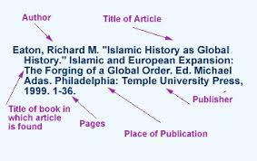 understanding citations ryerson university library u0026 archives