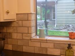 showing off the tile around window and top of wall tiles my