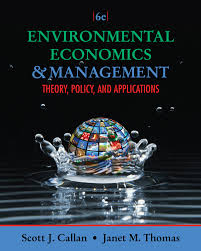 environmental economics and management theory policy and