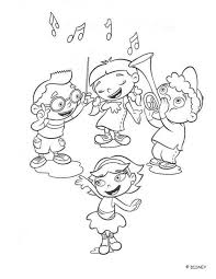 disney einsteins coloring pages printable coloring pages