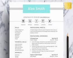 student resume etsy