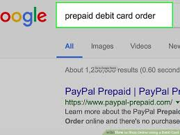 prepaid cards online 3 ways to shop online using a debit card wikihow