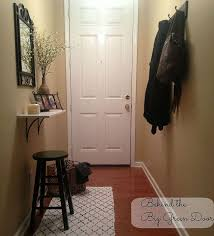 Entryway Home Decor Small And Narrow Entryway Update Hometalk