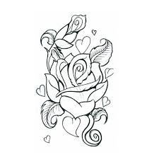 designs and images of rose and heart tattoos picturespider com