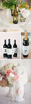 gold wine bottle table numbers corkscrew style wine bottle table numbers wedding or event
