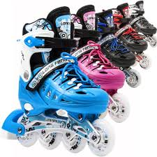 light up inline skates light up kids adjustable roller blades inline skates size 13j 3 4 6