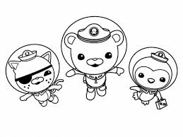 octonauts coloring pages 41626