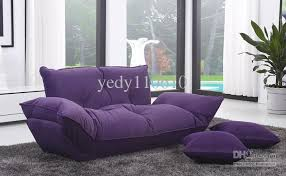 Purple Sofa Bed Purple Sofa Beds 2018 Sofa Bed Linen Cloth Fold Fasion Modern