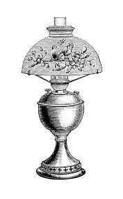 vintage lamp clip art black and white clipart victorian lighting