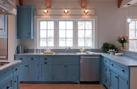 Blue Countertop Kitchen Ideas Blue Marble Countertops Kitchen Contemporary With Baseboards