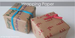 where the things are wrapping paper how to make personalised wrapping paper the things she makes