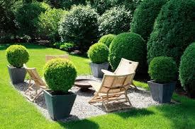 Gravel Fire Pit Area - beautiful planter ideas u2022 garden outline