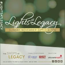 lights at legacy tree lighting shops at legacy plano tx