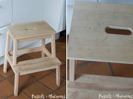 ikea step stool makeover diy tutorial that is simply stunning