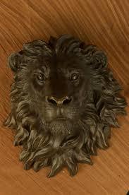 aliexpress com buy male african lion bust sculpture statue 100