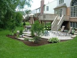 walkout basement landscaping ideas kskn us