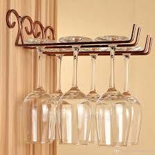 Wine Glass Holder Under Cabinet Wine Glass Hanging Rack Under Cabinet Wine Glass Rack Cabinet For