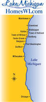 Map Of Kohler Wisconsin by Map Lake Michigan Homes Wi