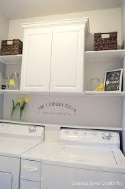 wonderful shelves for laundry room wall best 25 laundry room