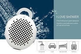 amazon com ipx5 waterproof bluetooth speaker gshine siren ws